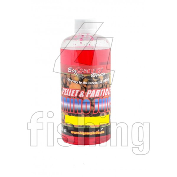 Big Carp Baits Blueberries Extra Pellet - Particle Amino Juice 500ml